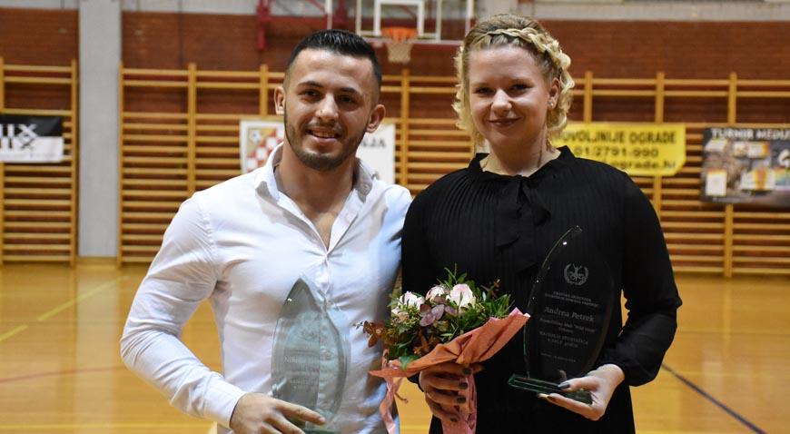 Andrea Petrek i Nikola Đorđević najbolji vrbovečki sportaši