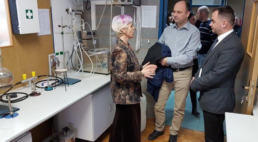 Otvoren novi elektro laboratorij Srednje škole Dragutina Stražimira