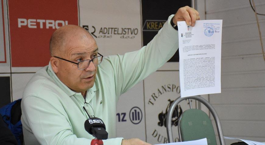 S pressice NK Vinogradar: Sve objekte u Mladini Ivan Rubinić dao je klubu na korištenje na 99 godina