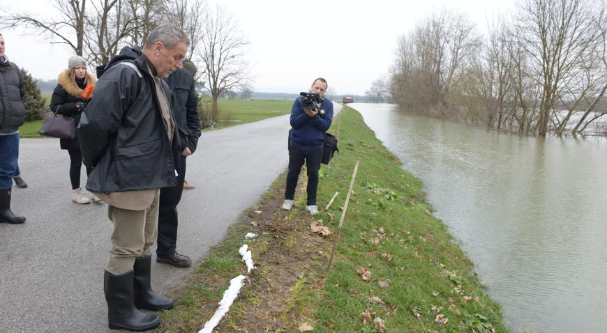 Grad Zagreb pomaže poplavljenom području Jasenovca