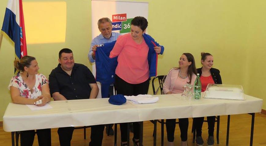 BM 365- Stranka rada i solidarnosti osnovana u Farkaševcu- predsjednica Martina Keleković