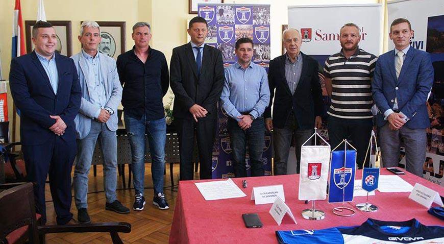 NK Samobor i GNK Dinamo potpisali ugovor o sportskoj suradnji