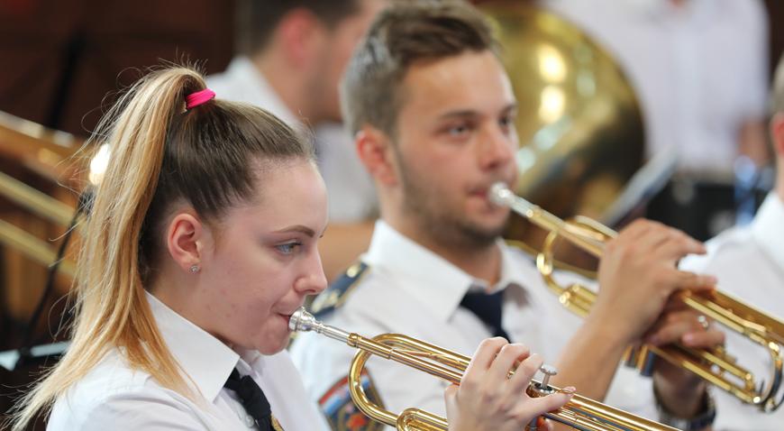 19 puhačkih orkestara zasviralo  u Križu