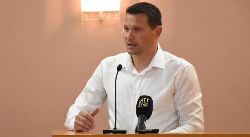 Alan Šembera izrazio zabrinutost za atletsku stazu na Gradskom stadionu