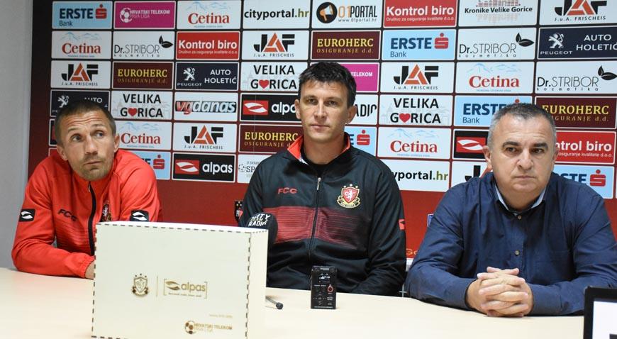 FOTO: Uoči utakmice protiv Rijeke HNK Gorica predstavila nove dresove
