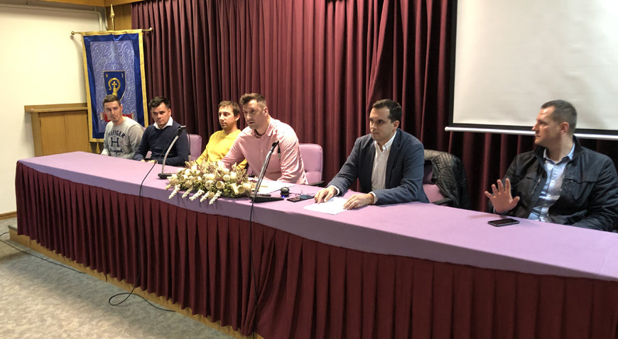 Novo vodstvo Mladeži HDZ-a Dugo Selo- predsjednik Slaven Marinić