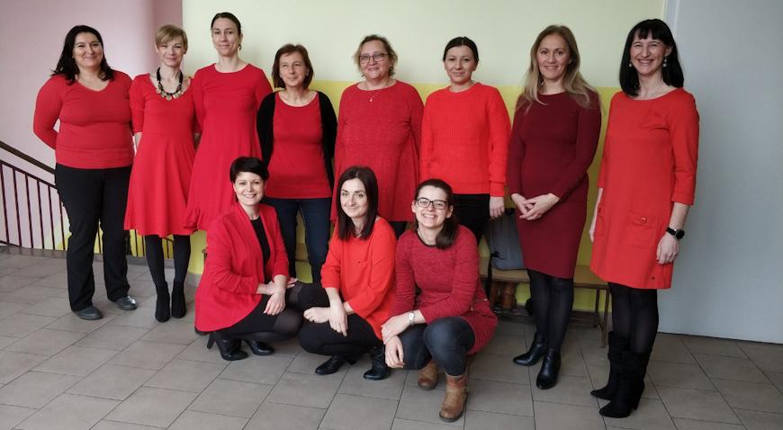 Nosi crveno za žene