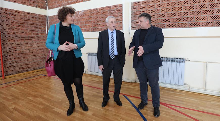 Sportska dvorana Osnovne škole braće Radić u potpunosti je energetski obnovljena
