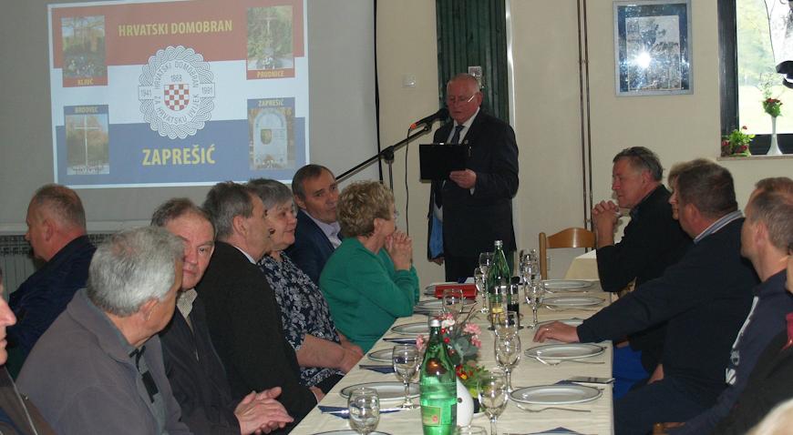 """SKUPŠTINA UDRUGE RATNIH VETERANA HRVATSKE """"HRVATSKI DOMOBRAN"""": Obilježeni svi značajniji događaji"""