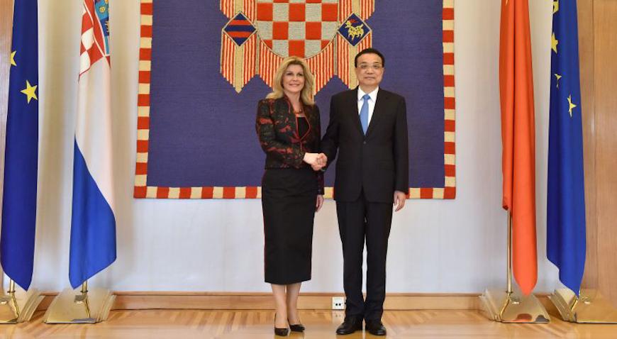 Predsjednica Republike primila Li Keqianga