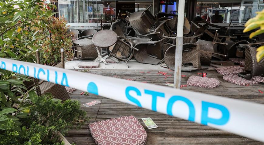 VIDEO: Navijački sukob na trešnjevačkoj tržnici