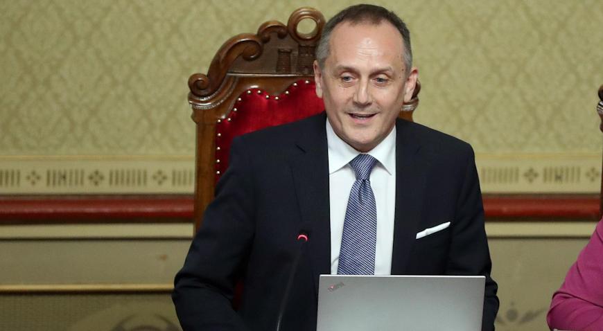 Drago Prgomet novi predsjednik Gradske skupštine