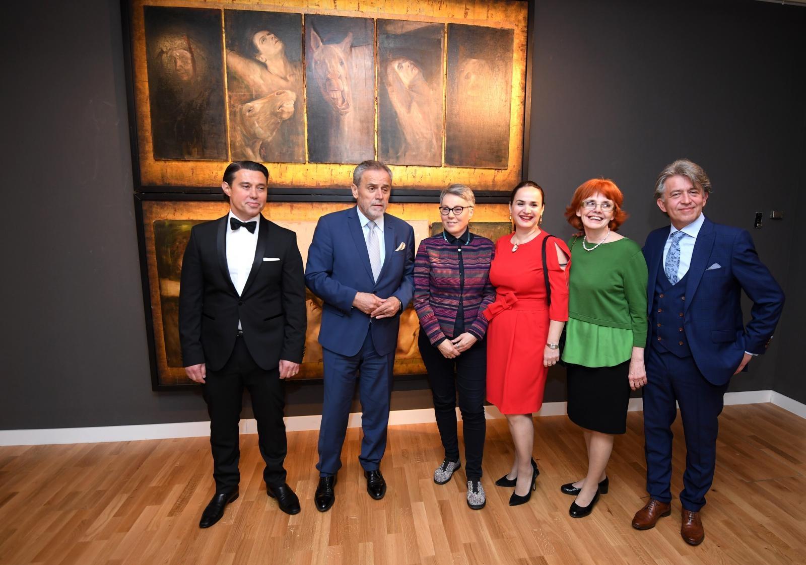 U Klovićevim dovrima otvorena izložba Mirsada Berbera