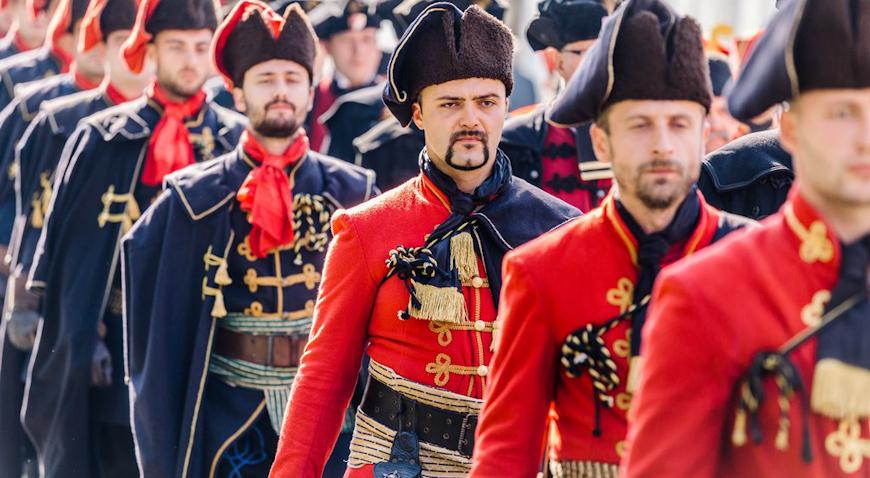 Kreće nova sezona Smjene straže Kravat pukovnije