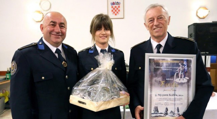 Župan Stjepan Kožić i Nenad Radojčić počasni članovi Vatrogasne zajednice Grada Vrbovca