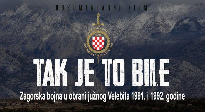 """U Jakovlju pretpremijera dokumentarnog filma """"Tak je to bile"""""""