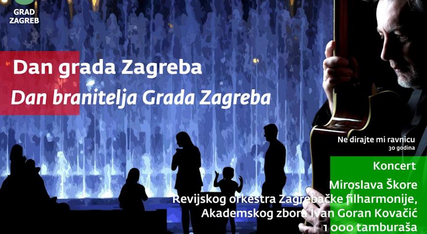 Koncert Miroslava Škore za Dan grada Zagreba