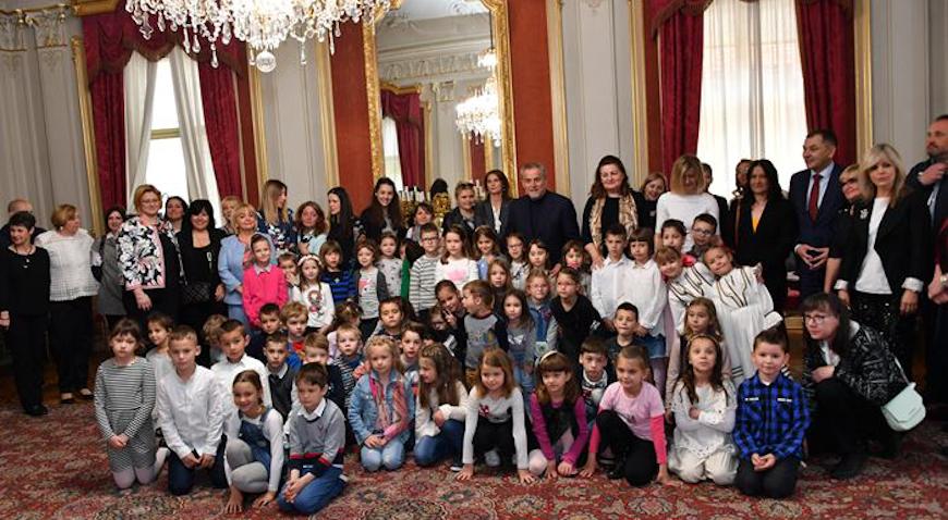 DANI DJEČJIH VRTIĆA GRADA ZAGREBA – Susret gradonačelnika Bandića s djecom