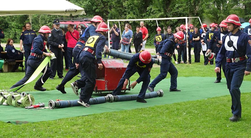 Vatrogasno natjecanje u Zaprešiću okupilo 27 ekipa