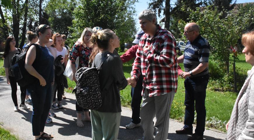 FOTO: Engleski studenti posjetili korisnike Udruge za autizam Zagreb u Mostarima