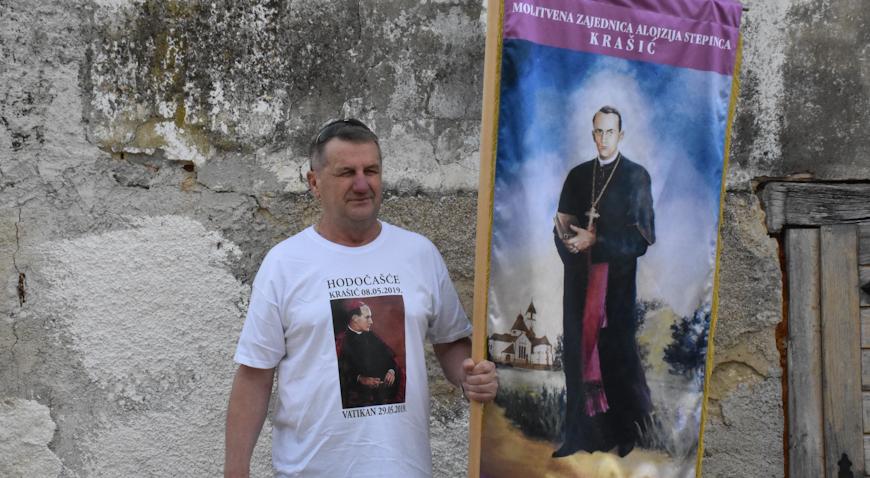 ANTE DUVNJAK NA HODOČAŠĆU OD KRAŠIĆA DO VATIKANA – Prijem kod pape Franje 29. svibnja
