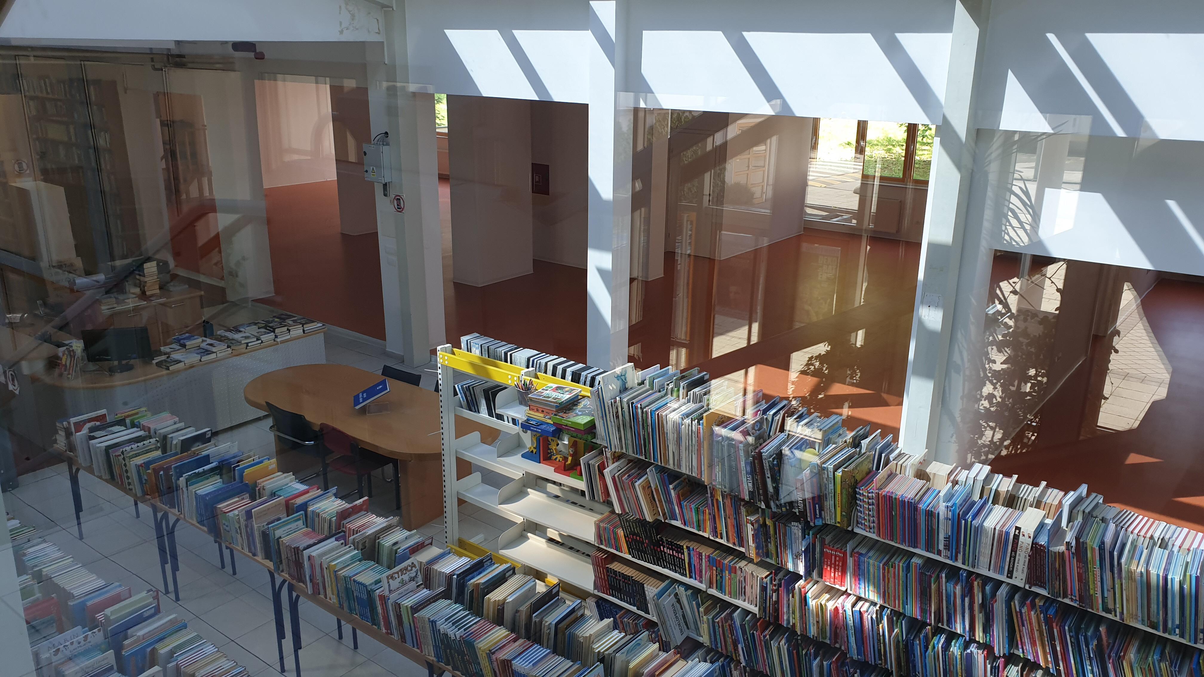 Radovi na Gradskoj knjižnici Ivanić-Grad bliže se kraju