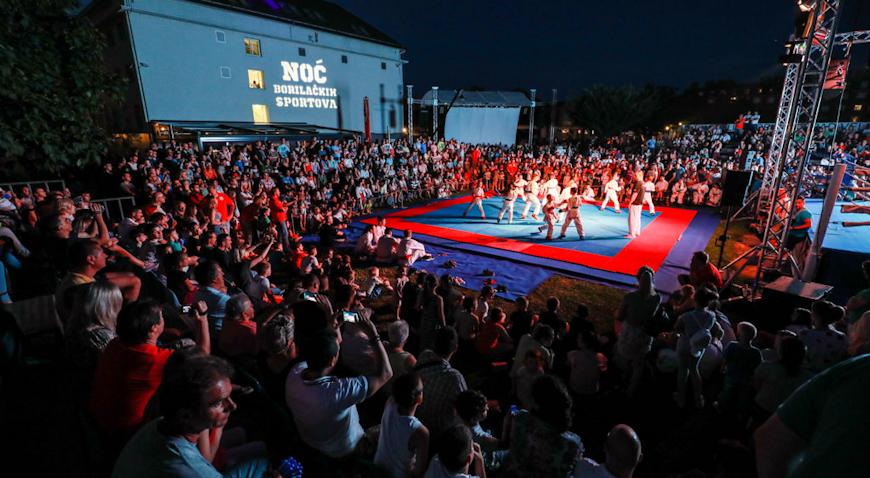 U subotu Noć borilačkih sportova