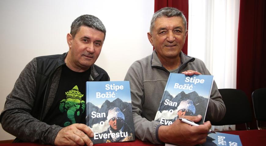 VIDEO: Promocija nove knjige Stipe Božića, San o Everestu