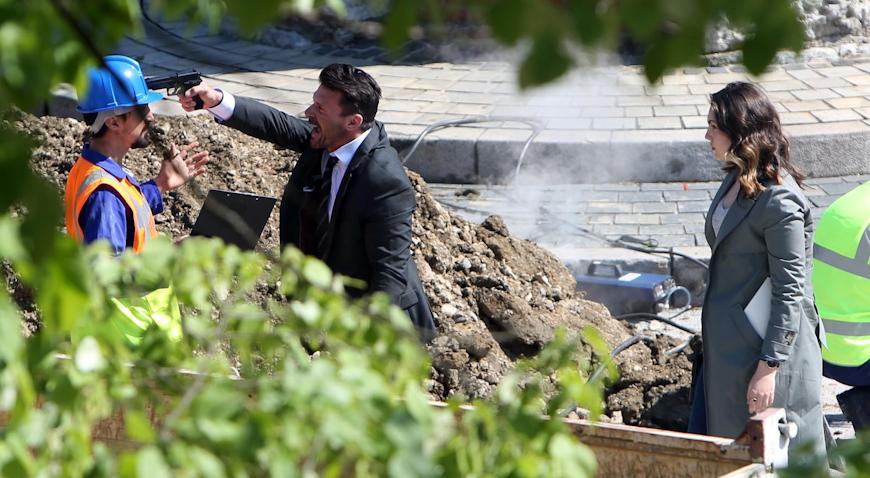 """VIDEO: Frank Grillo pucao iz pištolja na snimanju filma """"The Hitman's Wife's Bodyguard"""""""