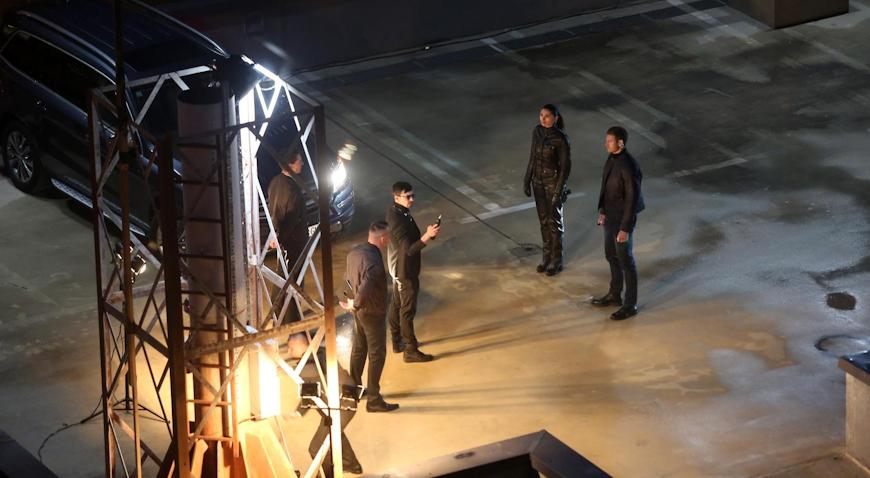 "VIDEO: Na krovu garaže nastavljeno snimanje filma ""The Hitman's Wife's Bodyguard"""
