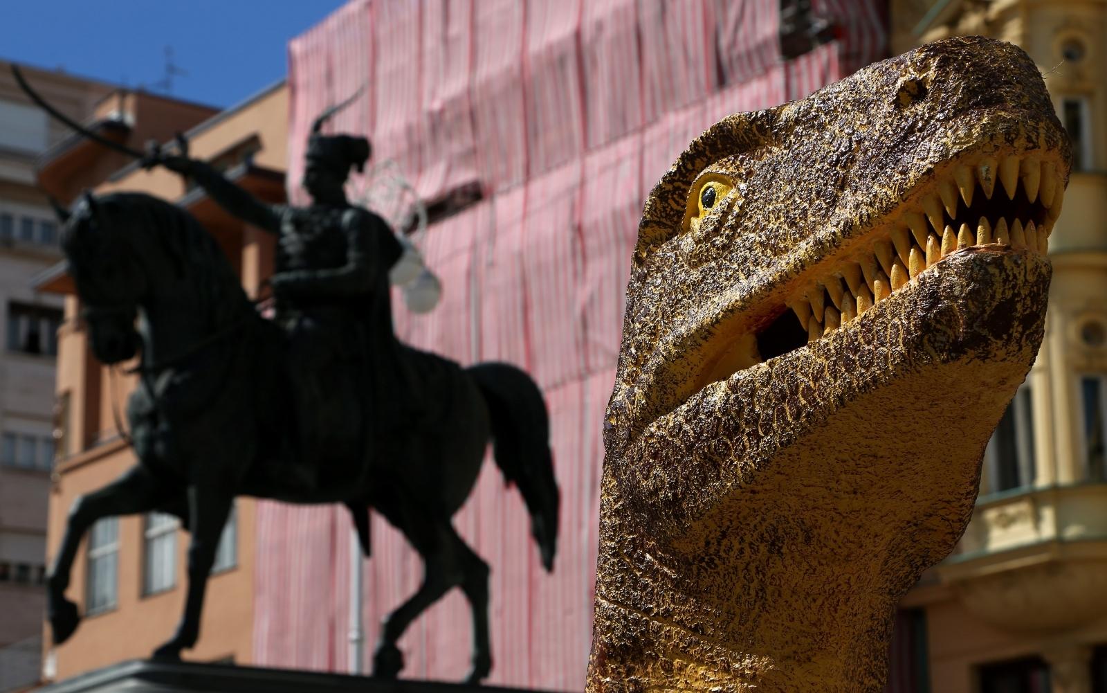 VIDEO: Muzeji izvan muzeja – dinosauri i ostala čudesa na središnjem zagrebačkom trgu