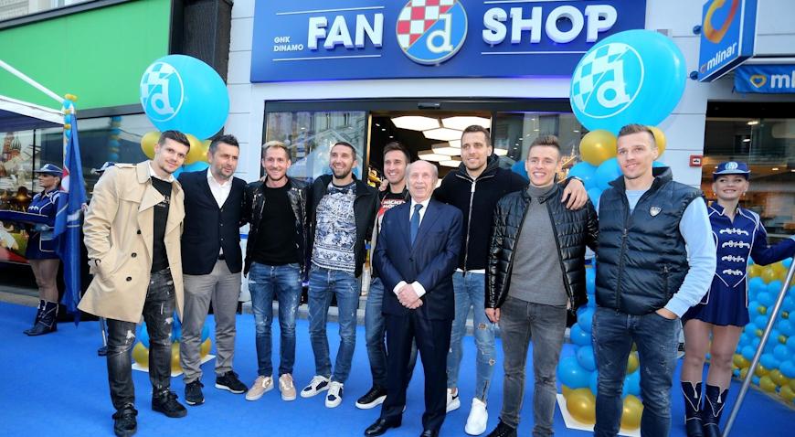 U Jurišićevoj otvoren novi Dinamov fan shop
