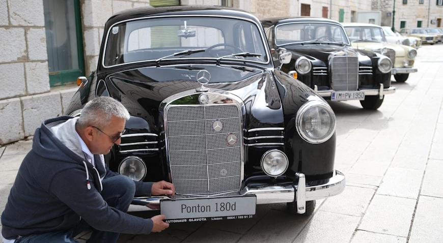 Mercedes dobiva spomenik u Imotskom