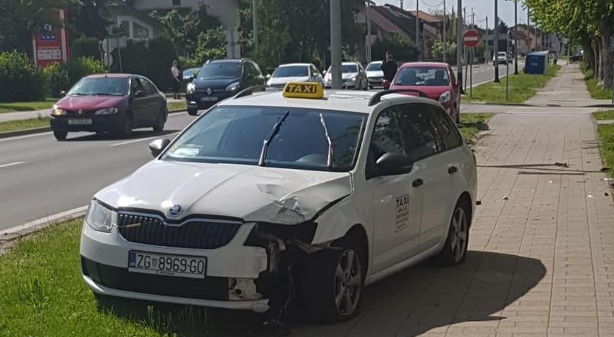 FOTO: Prometna nesreća u Matice Hrvatske
