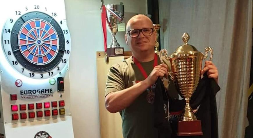 Zdravko Vučković-Vuki pobjednik humanitarnog pikado turnira