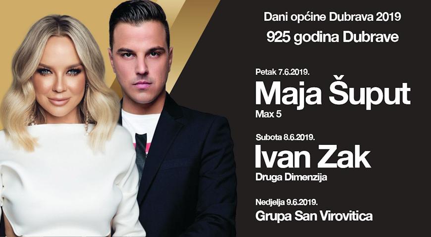 DANI DUBRAVE – Maja Šuput i Ivan Zak jamče dobru zabavu