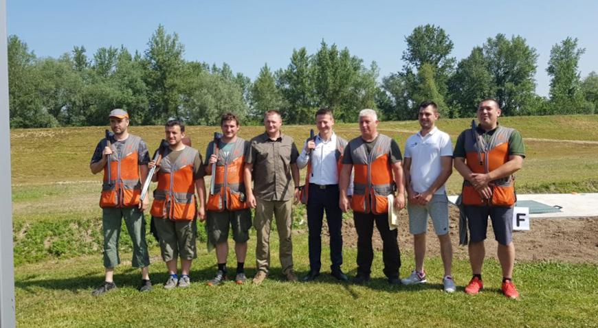 Otvorena nova streljana Lovačke udruge Jastreb iz Svete Nedelje