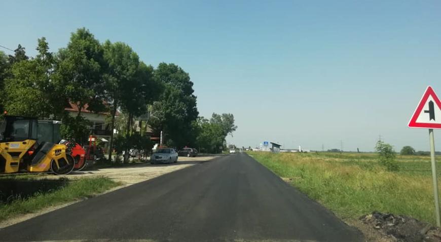 FOTO: Završeno asfaltiranje županijskih cesta u Hrušćici i Rugvici