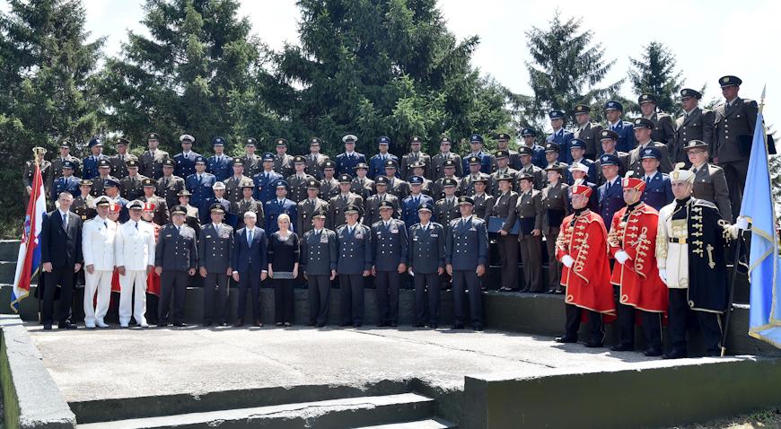 U Vukovaru održana promocija polaznika vojnih škola
