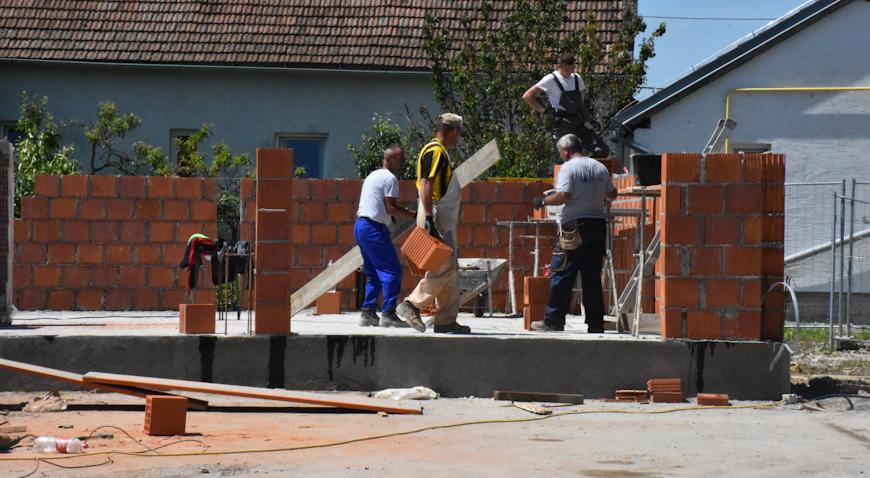FOTO: Radovi na Kulturnom centru napreduju planiranom dinamikom