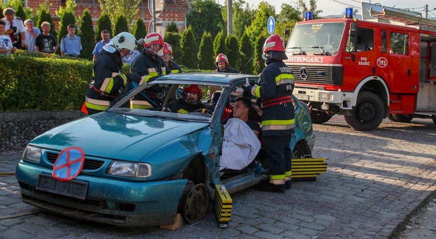FOTO: Vatrogasci Krašića pokazali spremnost