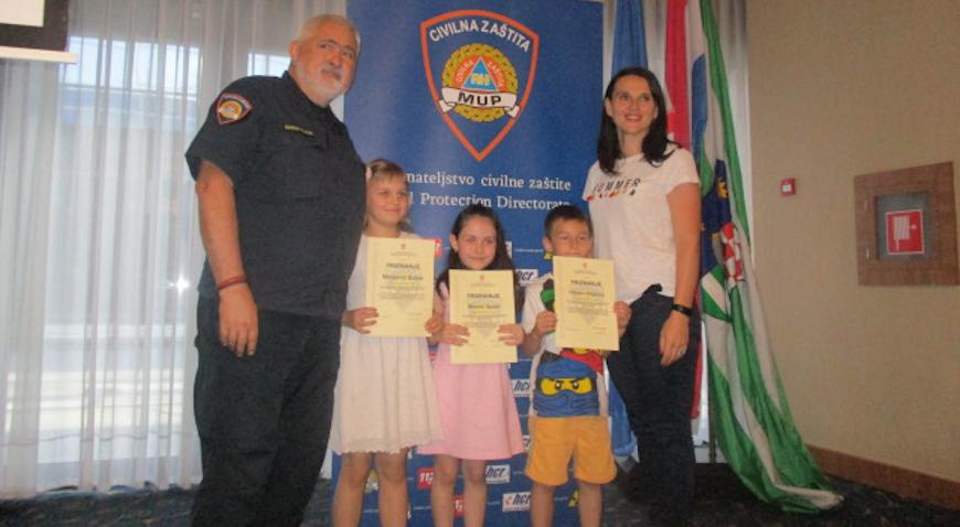 Vjeverićima nagrada od Državne uprave za zaštitu i spašavanje