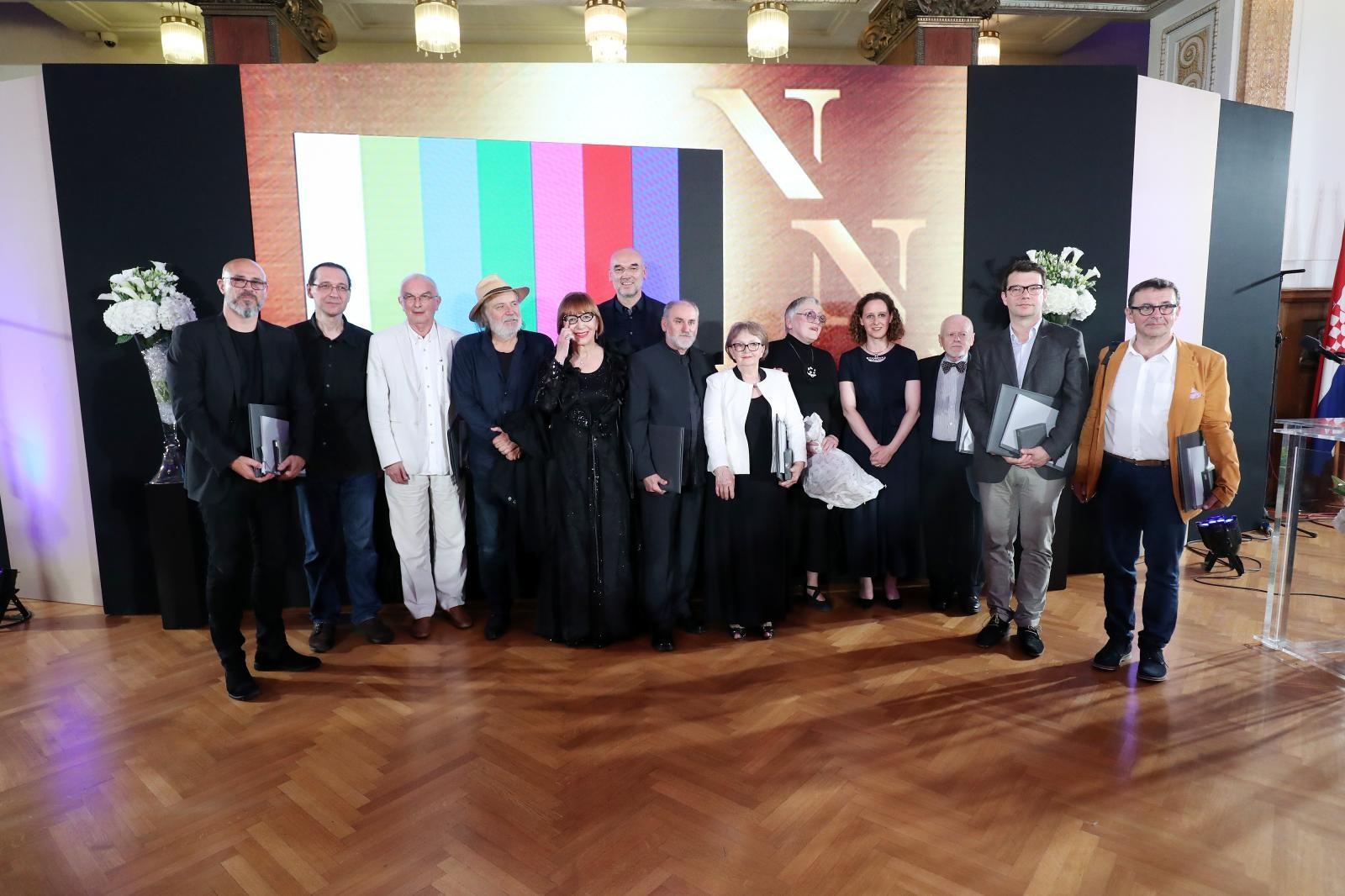 VIDEO: Dodijeljene Nagrade Vladimir Nazor za najbolja umjetnička ostvarenja
