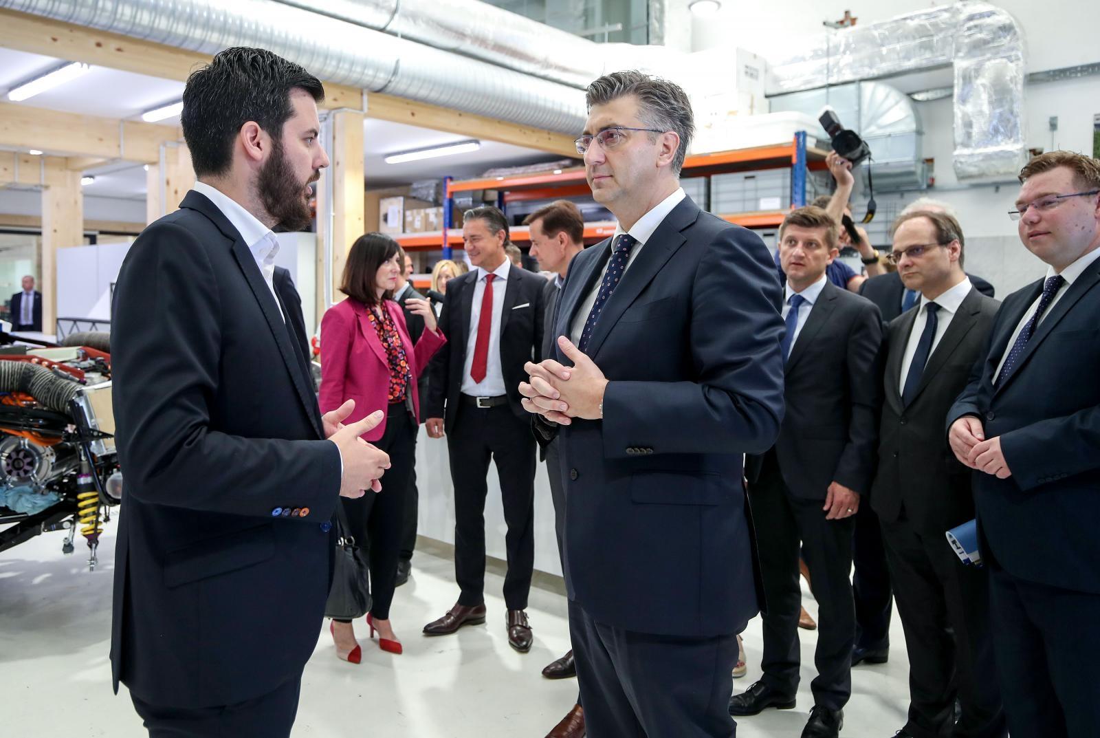 Premijer Andrej Plenković Rimcu: Vaša postignuća su velika