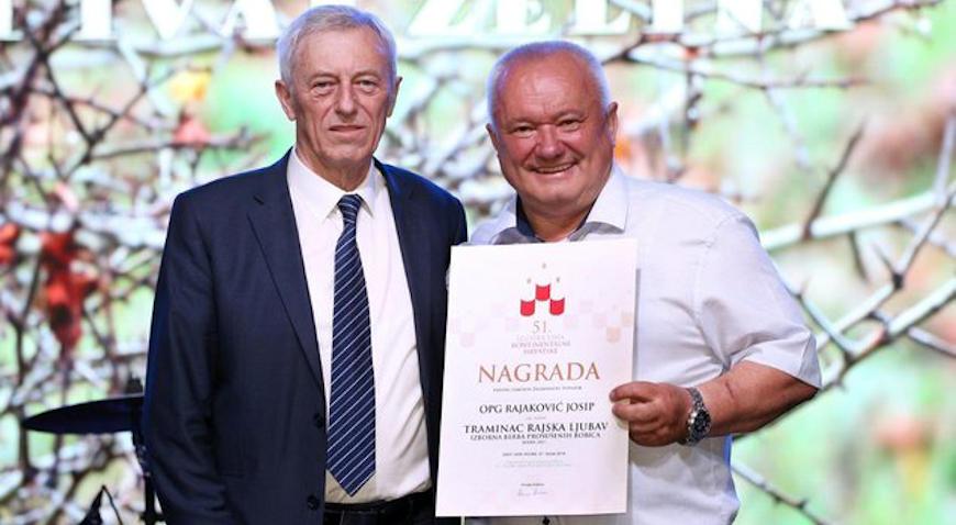 Josip Rajaković šampion ocjenjivanja vina Zagrebačke županije
