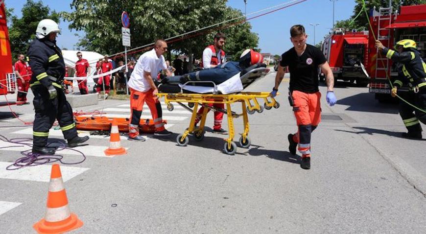FOTO: Snage županijske civilne zaštite pokazale da su spremne za sve nedaće