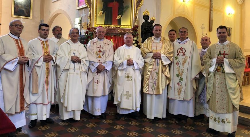 Velečasni Darko Pužin proslavio 25-tu obljetnicu svećenstva
