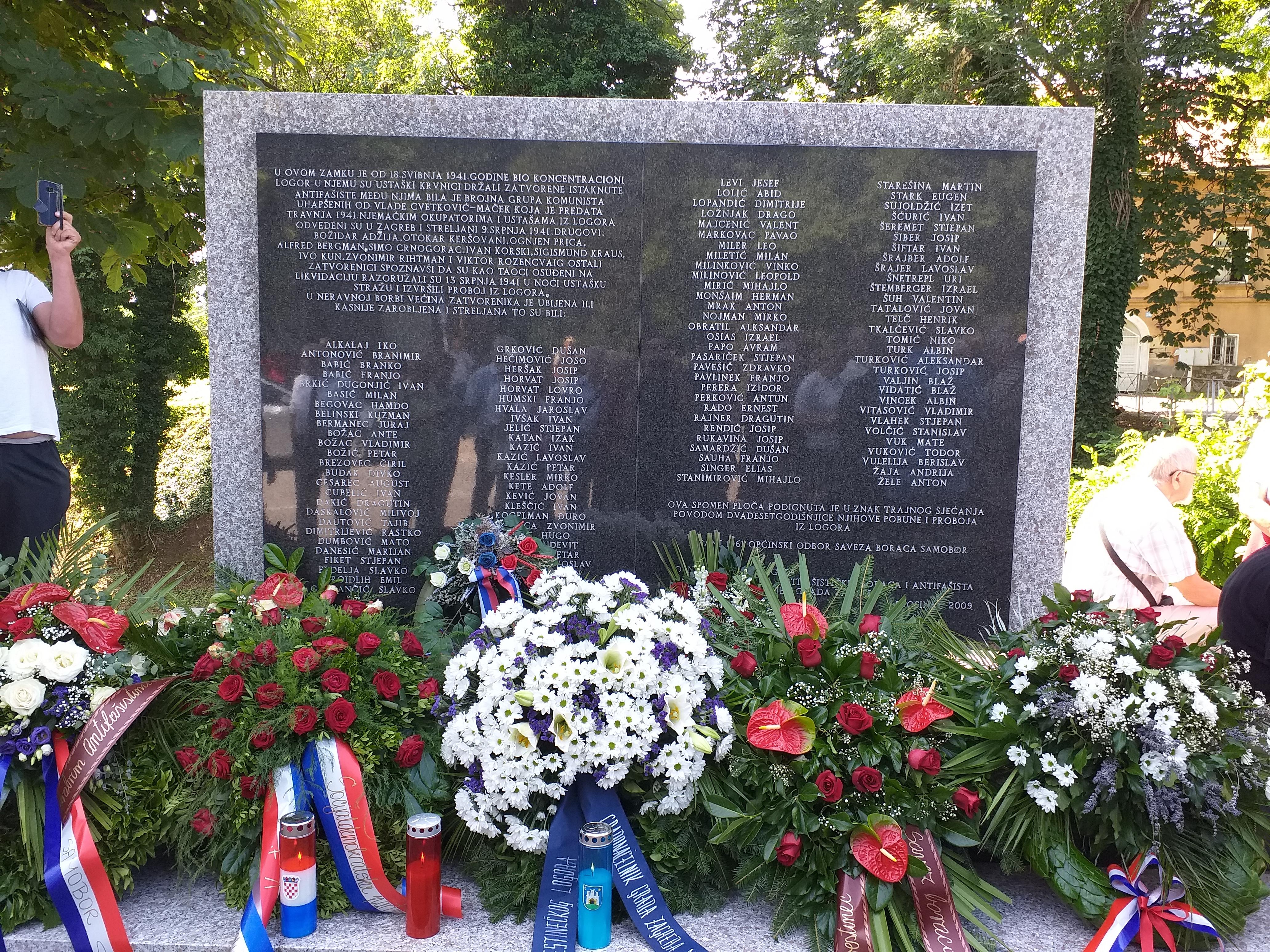 Obilježena 78. obljetnica proboja logoraša iz logora Kerestinec