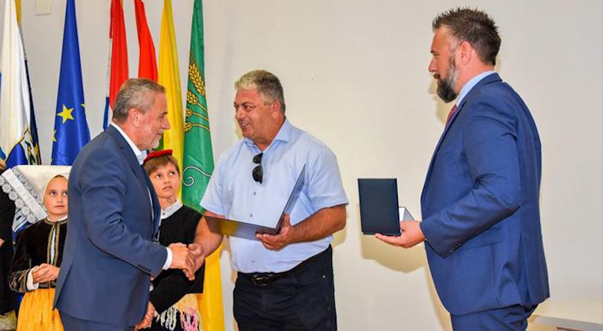 Milan Bandić počasni mještanin Općine Kolan