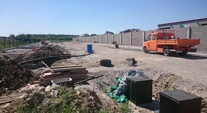 Intenzivirani radovi na reciklažnom dvorištu u Brckovljanima